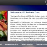 lot polish business class