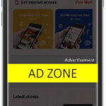 air asia mobile screen middle ad zone