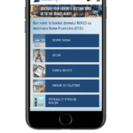 tarom mobile menu